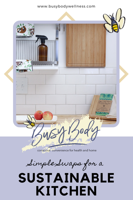 Simple Swaps for a Sustainable Kitchen