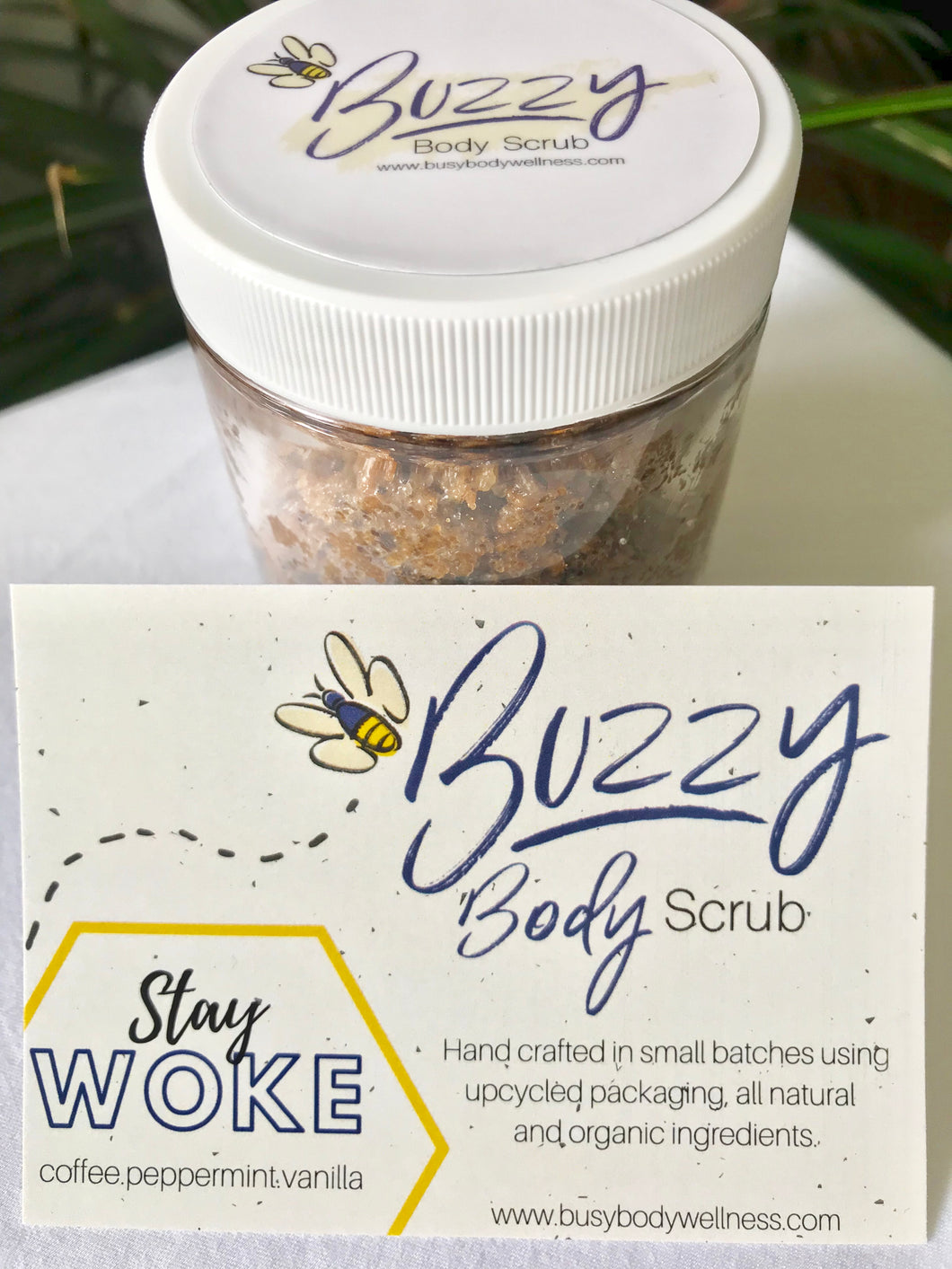 Coffee and Peppermint 'Stay Woke' Body Scrub