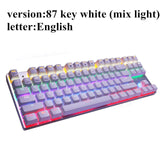 H.P.G. MeToo Zero RGB Mechanical Keyboard - High Ping Merch early black friday deals