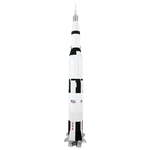 Estes 1969 Saturn V (1/100 Scale) Master Model Rocket Kit