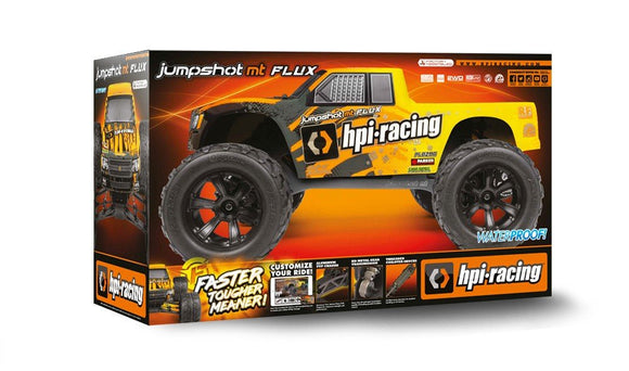 HPI 160030 1/10 Jumpshot MT Flux Electric Monster Truck