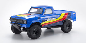 Kyosho 34361T2 1/10 Electric 2WD Truck OUTLAW RAMPAGE Blue