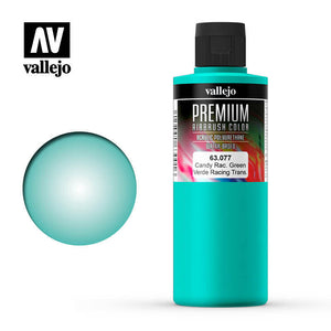 Vallejo 63077 Premium Color Candy Racing Green 200 ml.