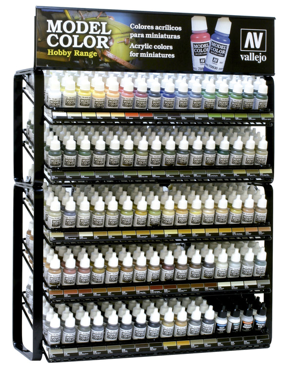 Vallejo EX124 Model Colour Hobby Range Display (Stand Only)