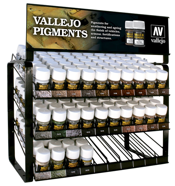Vallejo EX713 Pigments Complete Range Display (Stand Only)