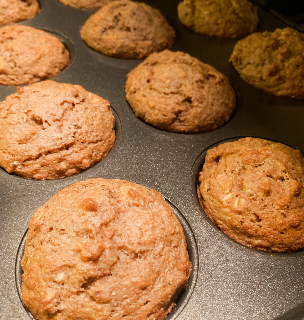 Dairy-Free Banana Bread Muffins
