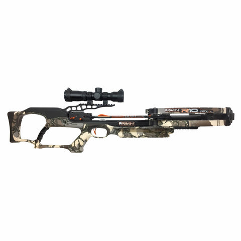 Ravin R10 Crossbow Package Predator Camo for sale now at kiigns.com.