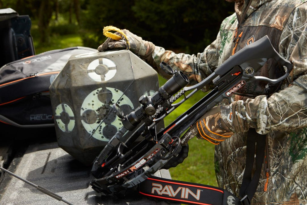 Ravin R26 Crossbow Package Review by Kiigns Hunting.