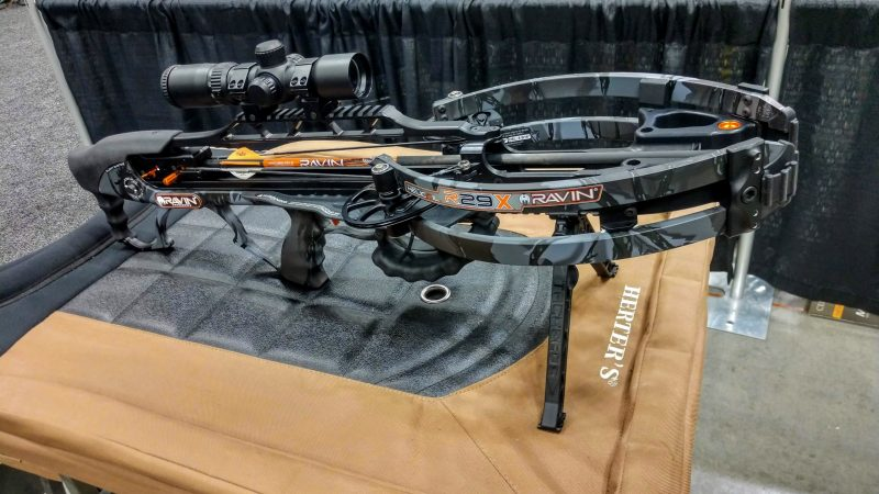 Ravin R29X Crossbow Package available from Kiigns Hunting.