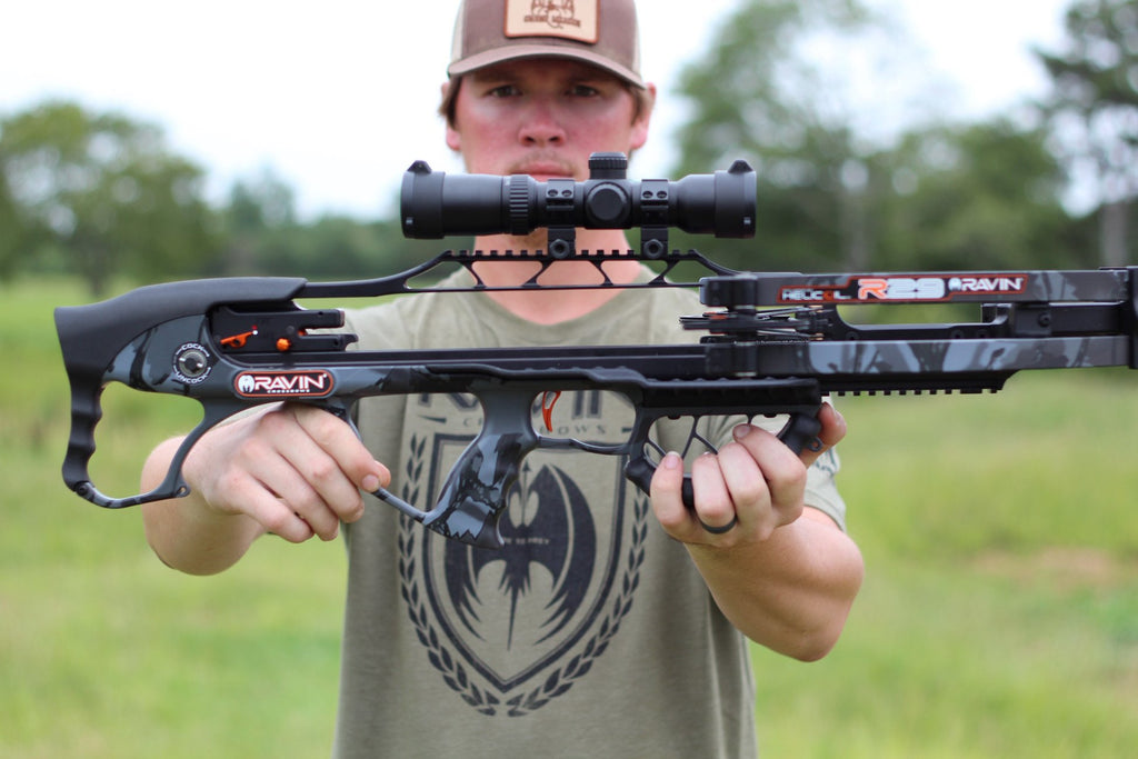 Ravin R29 Crossbow Package Review by Kiigns Hunting.