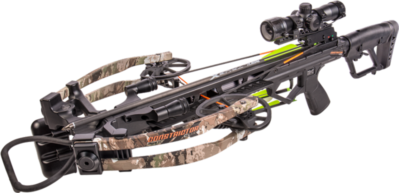 Bear X Constrictor CDX Crossbow Package for sale at Kiigns Hunting.