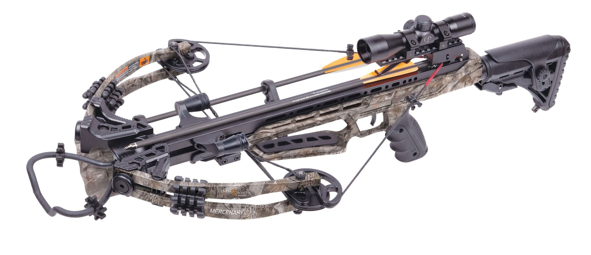 CenterPoint Mercenary 390 Crossbow Package for sale at Kiigns Hunting.