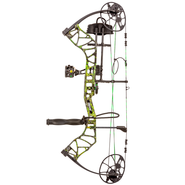 Fred Bear Legit Toxic Camo Compound Bow for sale at Kiigns Hunting.