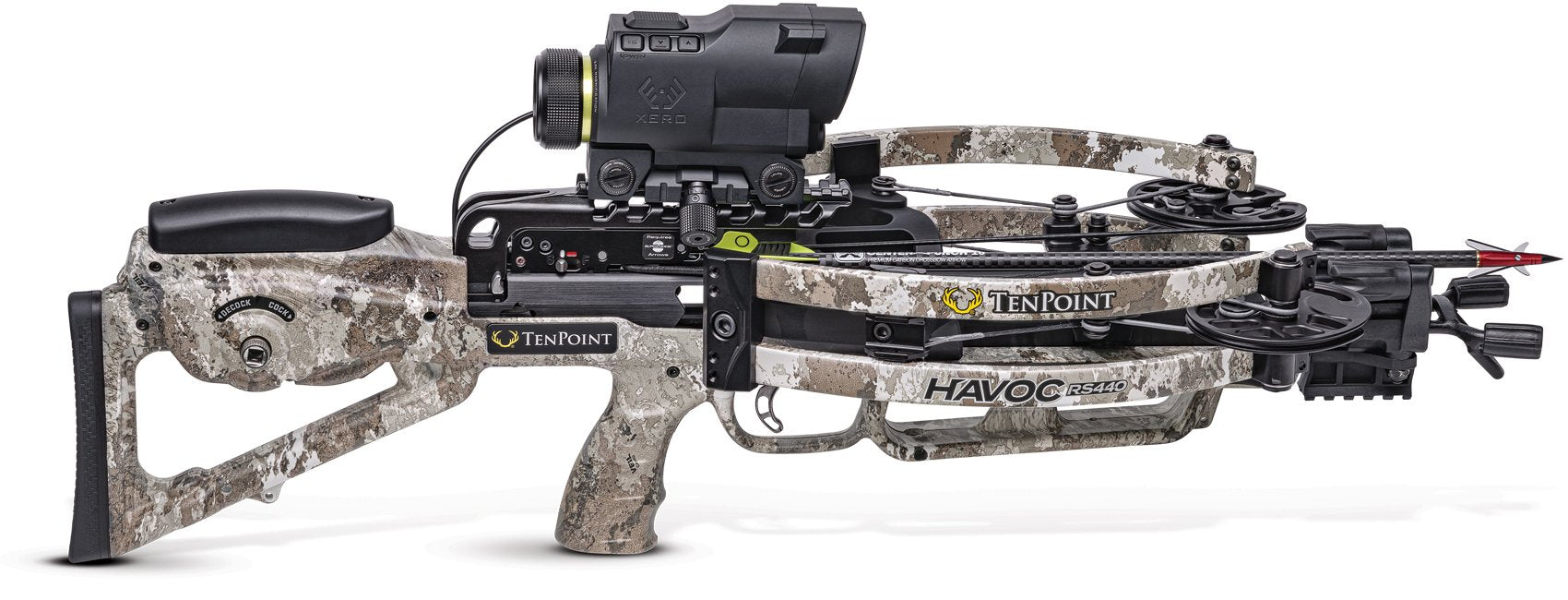 TenPoint Havoc RS440 Xero Crossbow Package for sale at Kiigns Hunting.