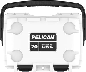 Pelican Elite Cooler 20qt White available for sale at Kiigns Hunting.