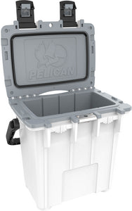 Pelican Elite Cooler 20qt White for sale for less at Kiigns Hunting.