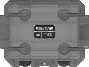 Pelican Elite Cooler 30qt Grey for sale at Kiigns Hunting.