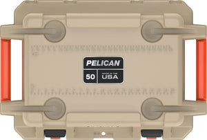 Pelican Elite Cooler 50qt Tan for sale at Kiigns Hunting.