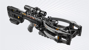 Ravin R500E Crossbow Package available at Kiigns Hunting.