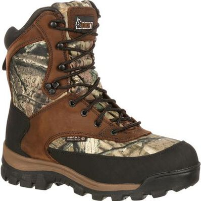 Rocky Core Comfort Boots 800g Mossy Oak Infinity for sale at kiigns hunting.