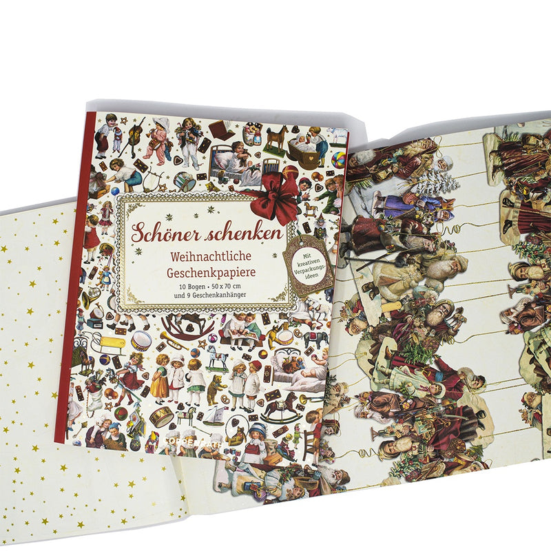 Victorian Book of Wrapping Paper