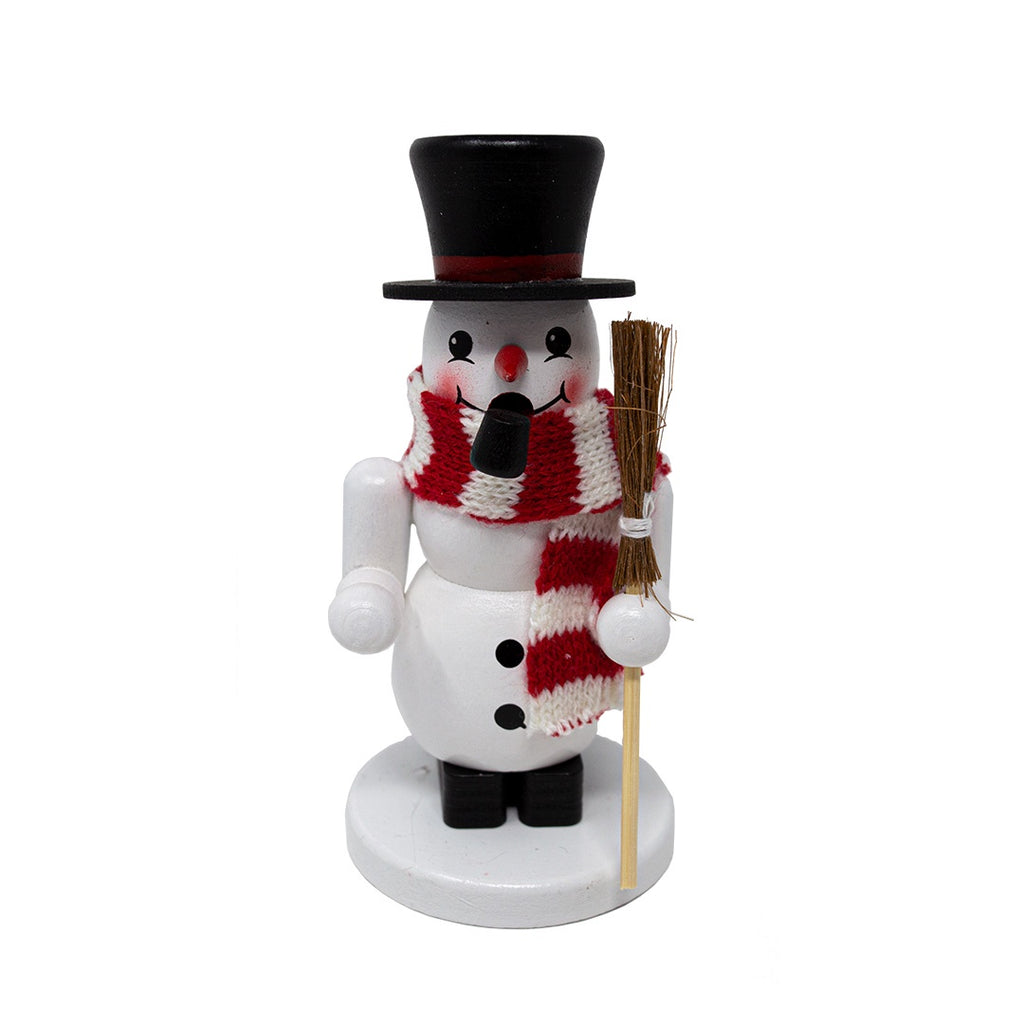 German Wooden Snowman Smoker