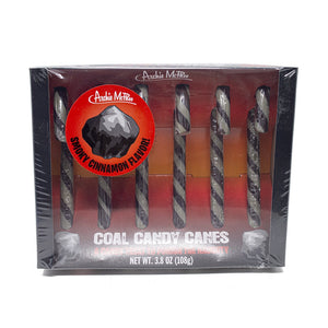 Coal Candy Canes For Naughty People!!!
