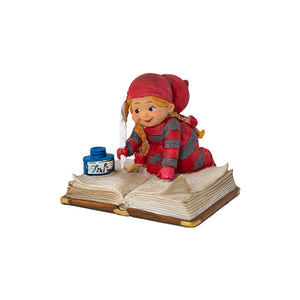Baby Elf on Open Book - Choice of 4