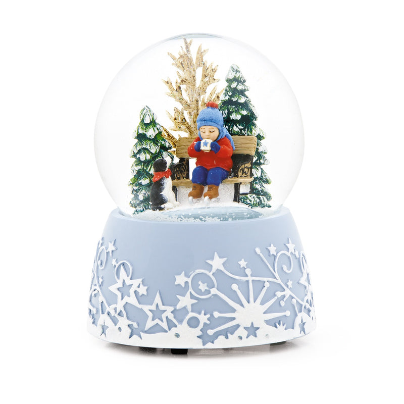 Hot Chocolate Winter Snow Globe