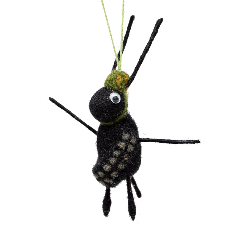 Felt Army Ant Christmas Tree Decoration
