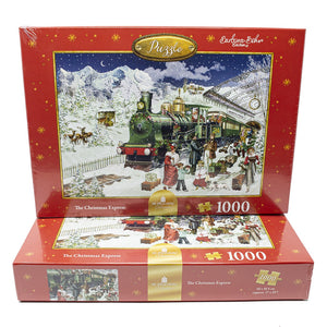 The Christmas Express Christmas Train Jigsaw Puzzle