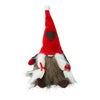 Tomte in Plush Red Hat with Grey Heart 16cm - Choice of 2