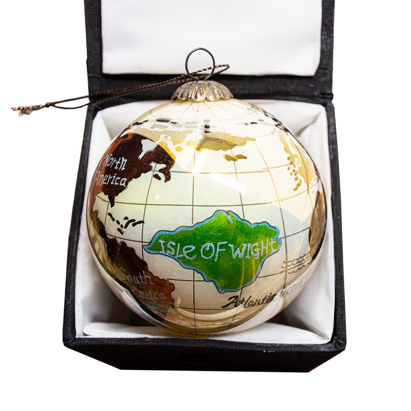 Isle of Wight Globe Bauble