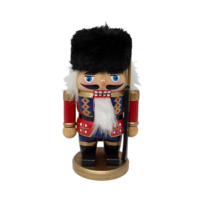 Red Dumpy Nutcracker Soldier 18cm