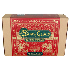 Santa Claus The Book of Secrets - Naughty & Nice Year Glass & Book Edition