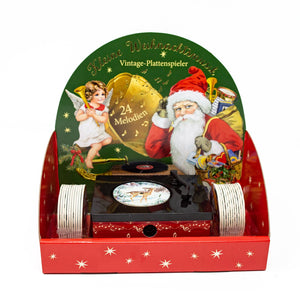 Vintage Gramophone Christmas Advent Calendar