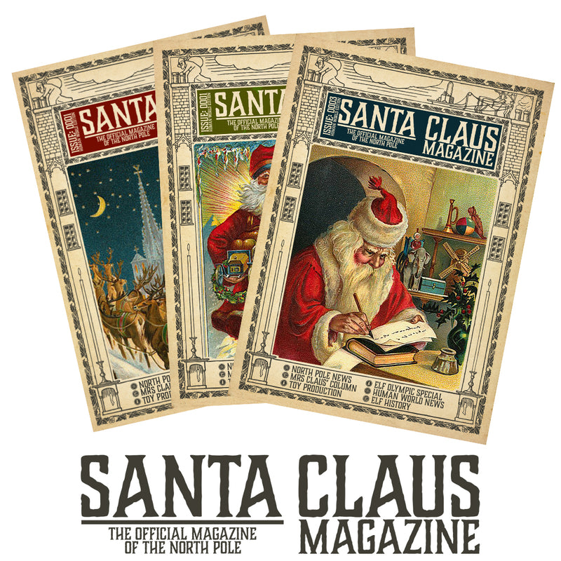 Santa Claus Magazine Monthly Subscription