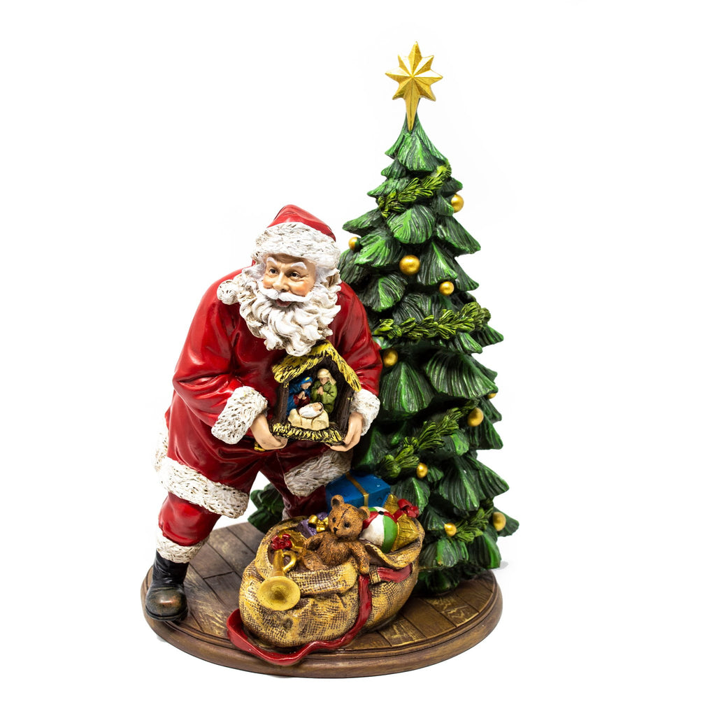Santa Delivering Presents Christmas Decoration