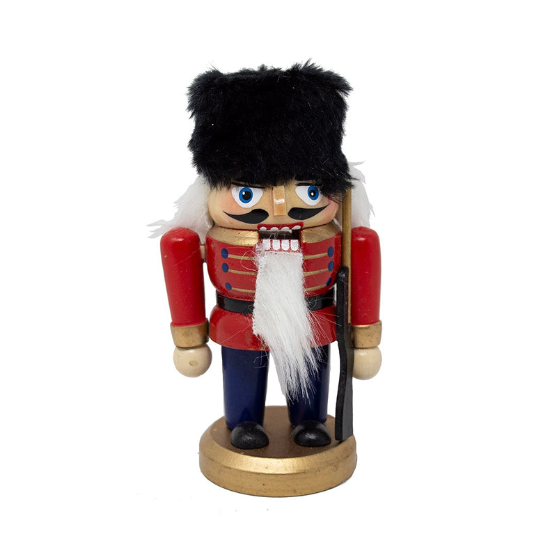 Dumpy Wooden Nutcracker Soldier 13cm