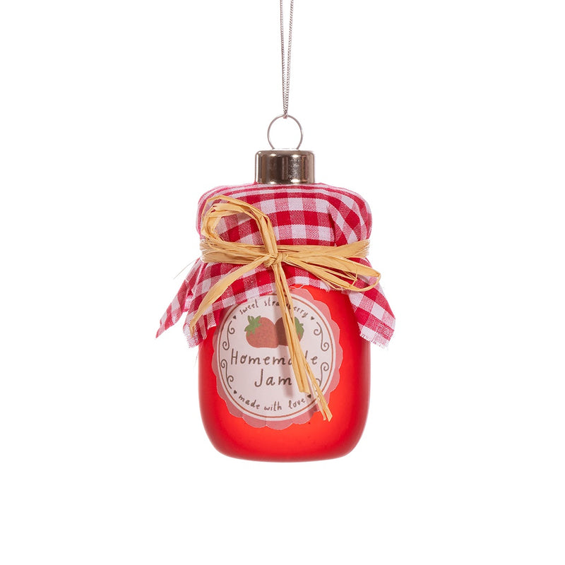 Strawberry Jam Christmas Tree Decoration