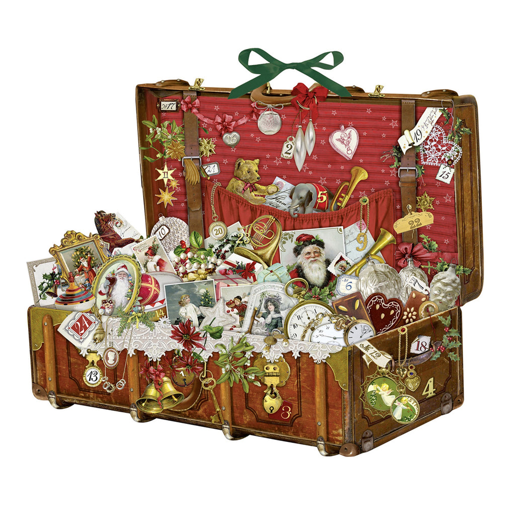 Christmas Treasure Chest Advent Calendar 55cm