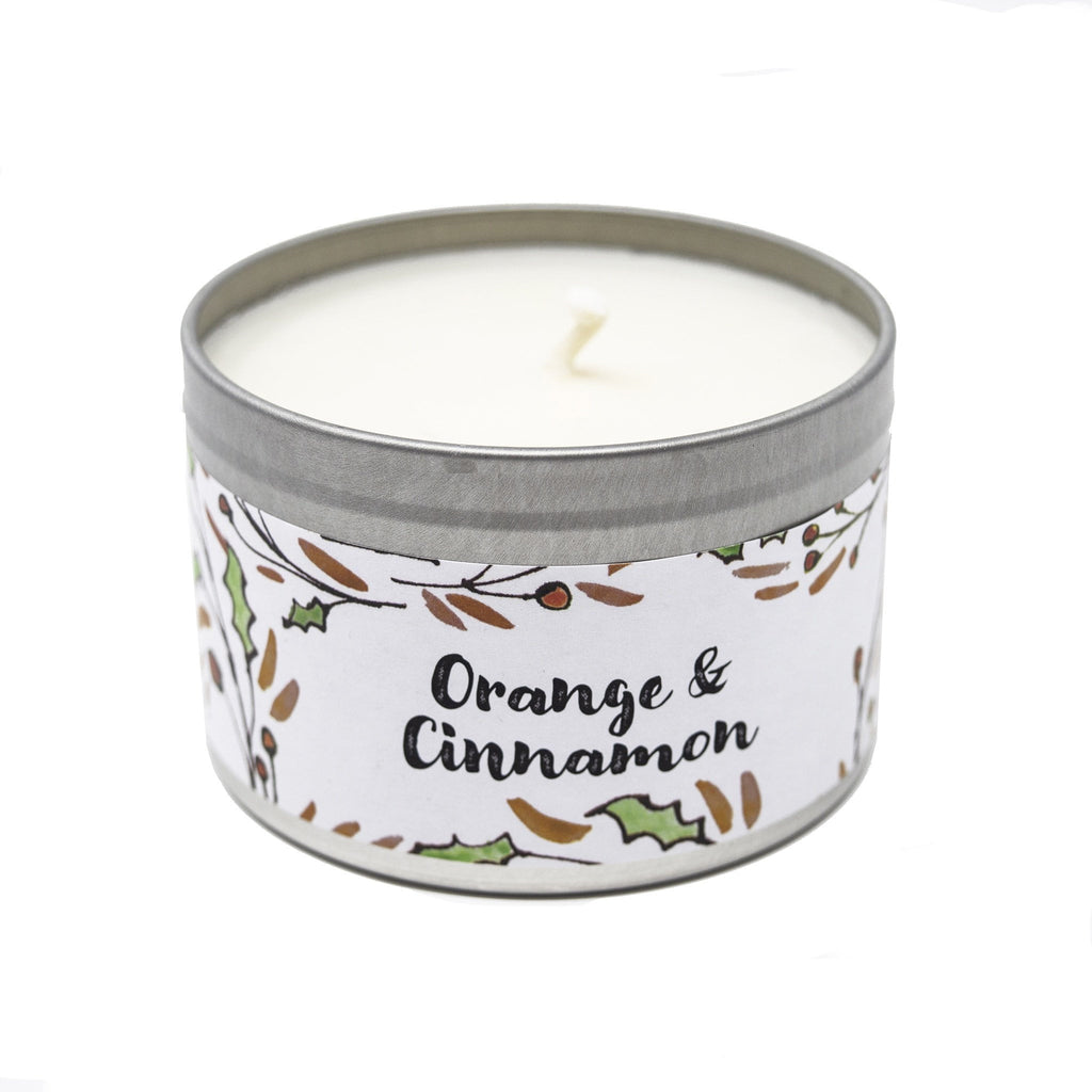 Orange & Cinnamon Soy Christmas Candle (Handmade)