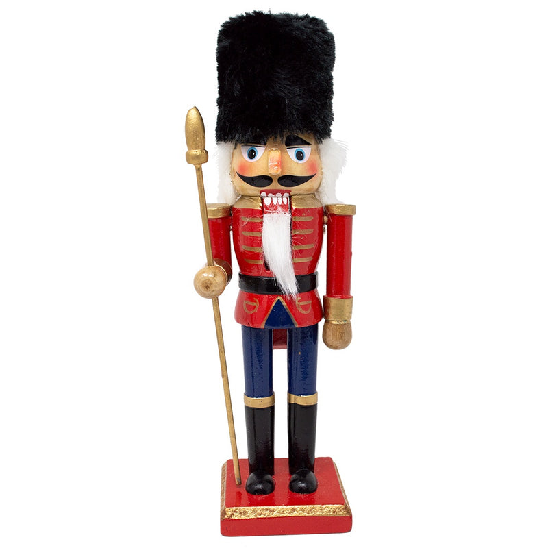Nutcracker Soldier with Furry Hat 25.5cm