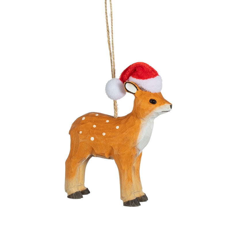 Wooden Deer Christmas Tree Decoration