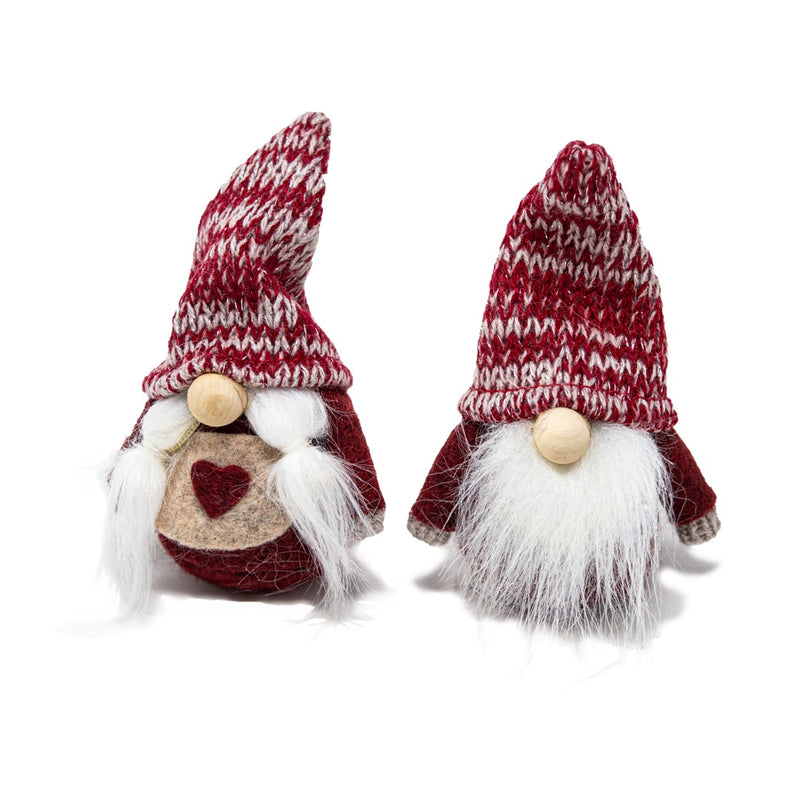 Tomte Pair in Knitted Hat - Choice of 2