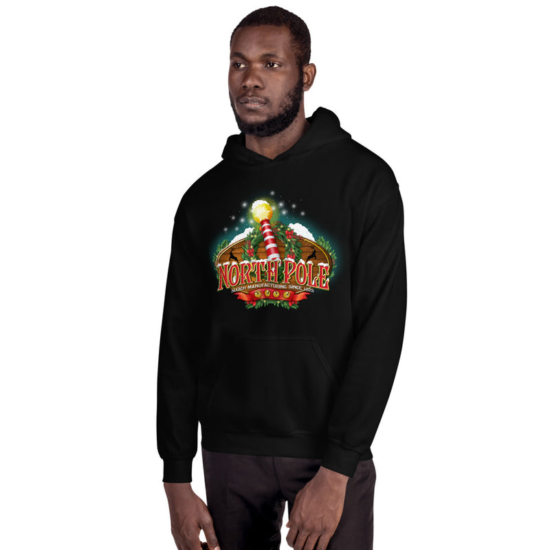 North Pole Christmas Hoodie