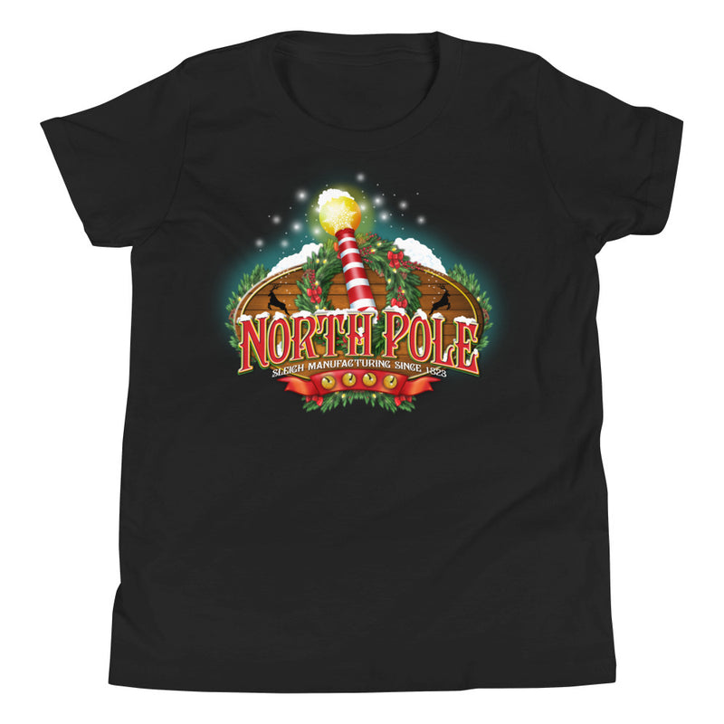 Children's North Pole Christmas T-Shirt