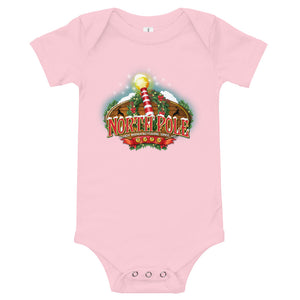 North Pole Christmas Baby Suit