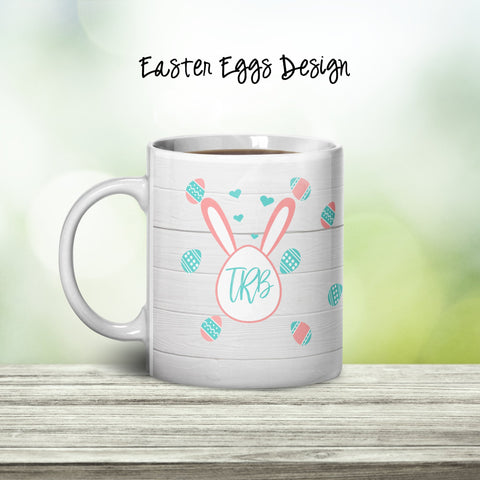 Easter Eggs Personalized Coffee Cups