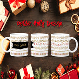Holiday Personalized Coffee Cups
